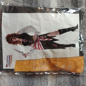 CALIFORNIA COSTUME Ruby the pirate beauty L 10-12 tall
